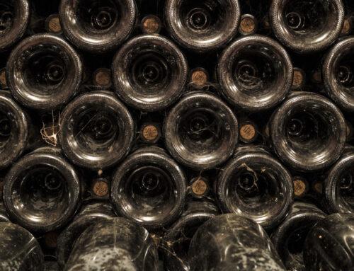 Champagner richtig lagern