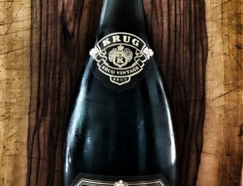 Krug Champagner, eine Legende